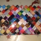Geanta plic facuta manual din reviste, rezistenta la apa - Geanta handmade