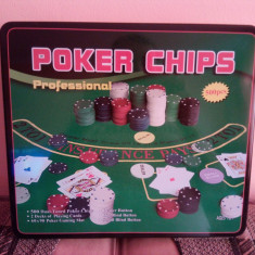 Poker Chips Profesional 500 pcs - Set poker