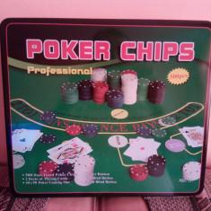 Poker Chips Profesional 500 pcs - Set poker