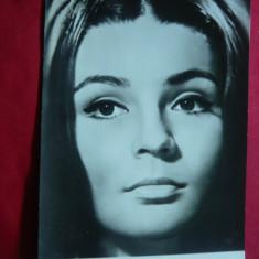 Fotografie actrita romana Luminita Iacobescu in film RFG Camera Alba 1965 - Autograf