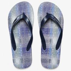 Slapi/Papuci plaja ARMANI Blue Plaid FF masura 42 43 44 45