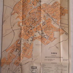SIBIU 1940, HARTA ORASULUI