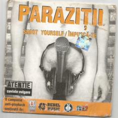 A(02) C D-Parazitii- Impusca-te - Muzica Hip Hop Altele