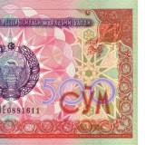 UZBEKISTAN 500 SOM 1999 * P 81 * UNC - Necirculata