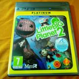 Joc Little Big Planet 2, PS3, original, alte sute de jocuri! - Jocuri PS3 Sony, Actiune, 12+, Single player