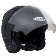 Casca Scooter/Motocicleta jet de vara, viziera inalta Zeus H001 - Casca moto, Marime: XL
