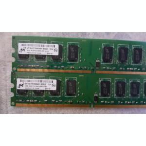 Kit 4 Gb (2x2 Gb)  M T  DDR 2 800 MHz PC2-6400U-666