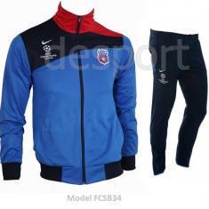 Trening NIKE - STEAUA BUCURESTI - FCSB - Bluza si pantaloni conici - FCSB34 - Trening barbati, Marime: S, M, XXL, Culoare: Din imagine