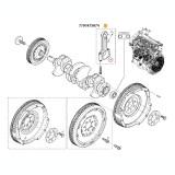 Set biele motor LOGAN/SANDERO 1.5(4 buc), Dacia
