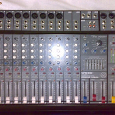 Mixer Work 600w, boxe JBL originale SUA 500w, monitoare active B215A Germany
