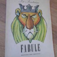 Fabule, Ilustratii De Augen Taru - La Fontaine, 396330 - Carte Basme