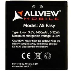 Baterie Acumulator Original Allview A5 Easy, Li-ion, 1500mAh/5, 5Wh