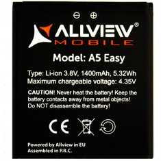 Baterie Acumulator Allview A5 Easy, Li-ion, 1500mAh/5, 5Wh