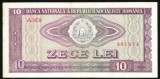 BANCNOTA 10 LEI 1966 AUNC (serie 881944)
