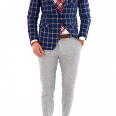 Sacou + Pantaloni + Camasa + Curea barbati - Tinuta fashion 1012 - Costum barbati, Marime: 44, 46, 48, 50, 52, 54, Culoare: Din imagine