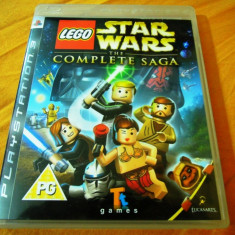 Joc Lego Star Wars the Complete Saga, PS3, original, alte sute de jocuri! - Jocuri PS3 Altele, Actiune, 12+, Single player