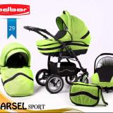 Carucior Marsel Sport Adbor verde - Carucior copii 3 in 1