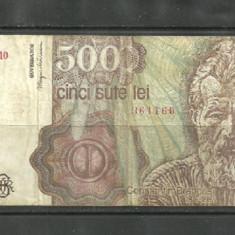 BANCNOTA 500 LEI - APRILIE 1991 VF (serie 361160) - Bancnota romaneasca