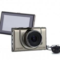 Camera auto DVR iUni Dash 100H, Dual Cam, Full HD, WDR, 170 grade, by Anytek - Camera video auto