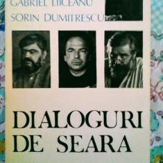 Dialoguri de seară - Părintele Galeriu, Andrei Pleșu, Gabriel Liiceanu, Dumitr - Filosofie