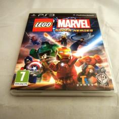 Joc Lego Marvel Super Heroes, PS3, original, alte sute de jocuri! - Jocuri PS3 Altele, Actiune, 12+, Single player