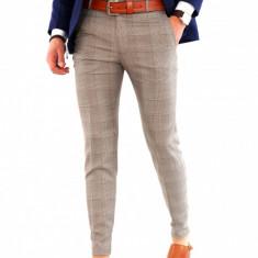 Pantaloni tip ZARA - carouri - pantaloni barbati - COLECTIE NOUA 8123, Marime: 31, 32, 33, 36, Culoare: Din imagine