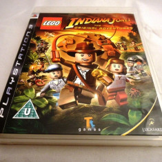 Lego Indiana Jones the Original Adventures, PS3, original, alte sute de jocuri! - Jocuri PS3 Altele, Actiune, 12+, Single player