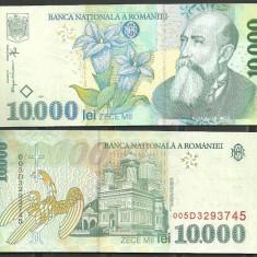 ROMANIA - BANCNOTA 10.000 LEI 1999, UNC