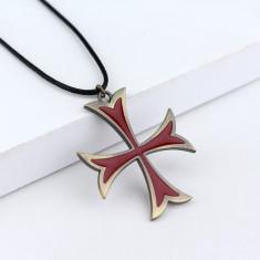 Pandantiv Crucea Cavalerilor Templieri Pandantiv Templier Crucea Templierilor