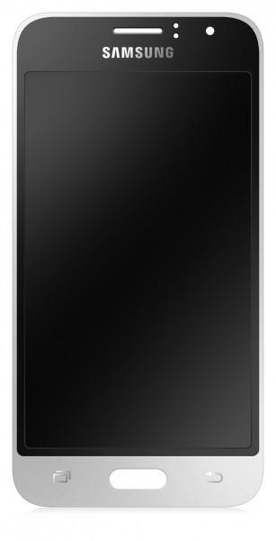 Display cu touchscreen Samsung Galaxy J1 (2016) J120 Negru Alb original foto mare