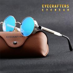Ochelari Soare Retro / Steampunk Style - Polarizati , Protectie UV100% -Model 3