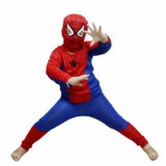 Costum spiderman copii 2-8 ani