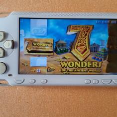 Consola PSP Sony 1000 MODATA PSP Sony MODAT Card 8 GB + 96 Jocuri Pe Carduri + HUSA