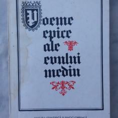 Poeme epice ale evului mediu-Cantecul lui Roland-Tristan-Cantecul Cidului - Carte poezie