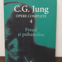 FREUD SI PSIHANALIZA -JUNG, OPERE COMPLETE 4 - Carte Psihologie