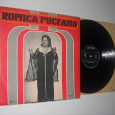 ROMICA PUCEANU (cod ST-EPE 02097) - disc vinil mare, stare excelenta - Muzica Lautareasca electrecord