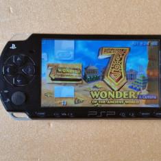 Consola PSP Sony 2000 MODATA PSP Sony SLIM MODAT Card 8 GB + 96 Jocuri Pe Carduri + HUSA