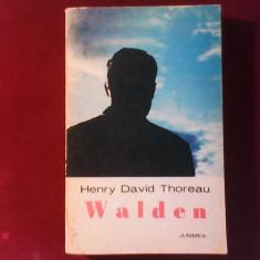 Henry David Thoreau Walden - Roman