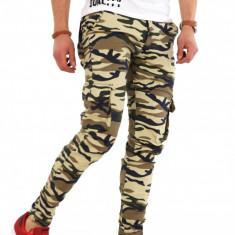 Pantaloni army camuflaj - COLECTIE NOUA - pantaloni barbati - 8172H1, Marime: 30, 33, 36, Culoare: Din imagine