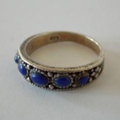 Inel argint cu lapis lazuli -2043