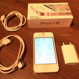 iPhone 4S alb white 16GB neverlocked necodat ieftin oferta.
