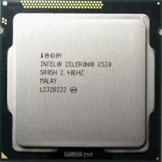 Procesor Intel Dual Core G530 2.4Ghz, 65Wati, Sandy Bridge, socket 1155 - Procesor PC Intel, Intel Celeron, Numar nuclee: 2, Peste 3.0 GHz
