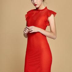 Rochie dantela rosie