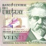 VENEZUELA 20 Nuevos Pesos 1997  * P 74b * UNC - Necirculata