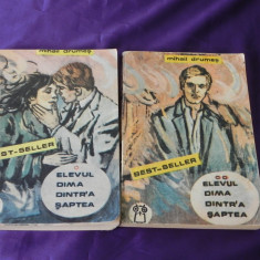Elevul Dima dintr-a saptea vol 1-2 (f3157 - Roman dragoste