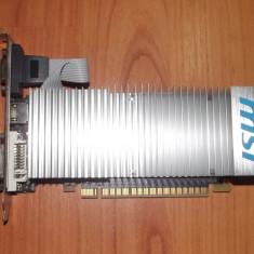 Placa video 1 Gb DDR3 / MSI Nvidia 210 / PCI Expres / HDMI / Silent - Placa video PC Msi, PCI Express