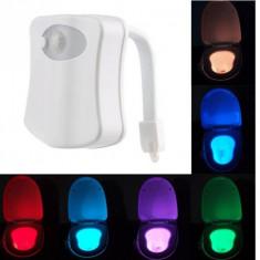 LED pentru vasul de toaleta cu senzor infrarosu