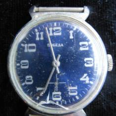 Ceas mecanic barbatesc rusesc, Pobeda, functional. - Ceas barbatesc, Mecanic-Manual