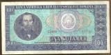 BANCNOTA 100 LEI 1966 AUNC (serie 923923)