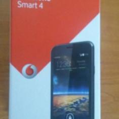 Vand Vodafone Smart4 - Telefon mobil Vodafone, Negru, 1GB, Neblocat, Quad core, 1 GB